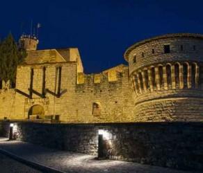 Notturno castello di Brescia