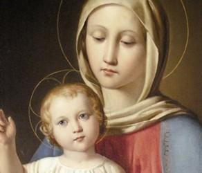 Madonna col bambino Grande
